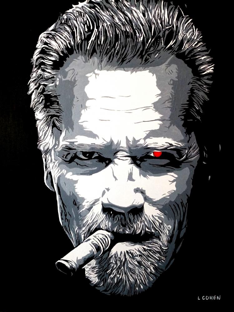 Arnold Schwarzenegger par LIONEL.COHEN
